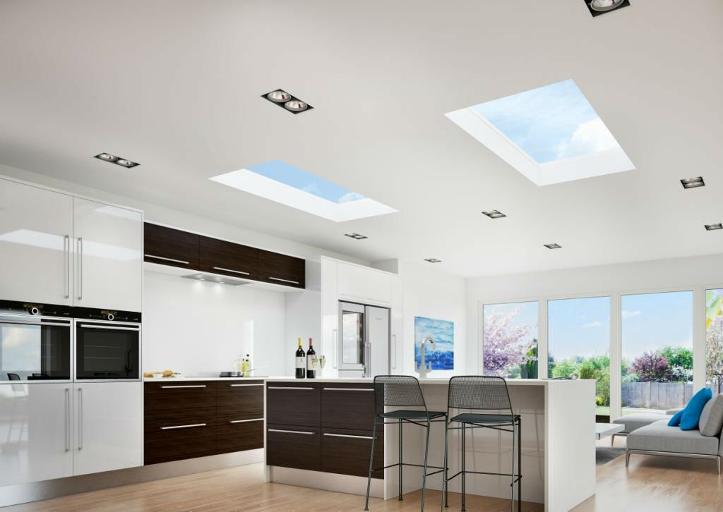 Flat Roof Lights by EYG 3