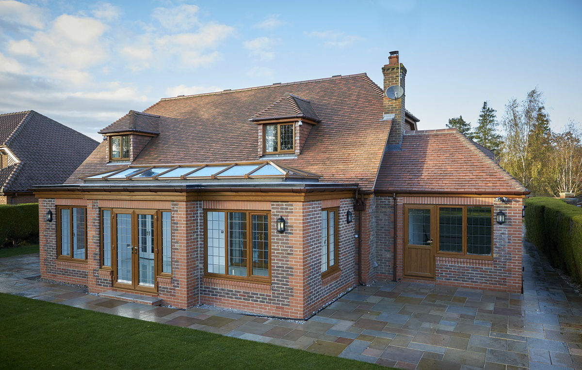 Orangery extension by EYG in Kirk Ella