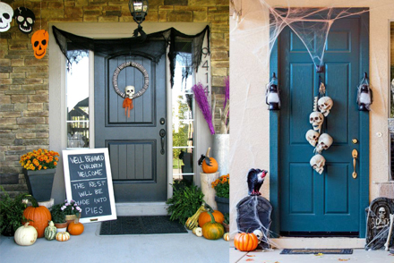 Halloween Door Decoration Inspiration