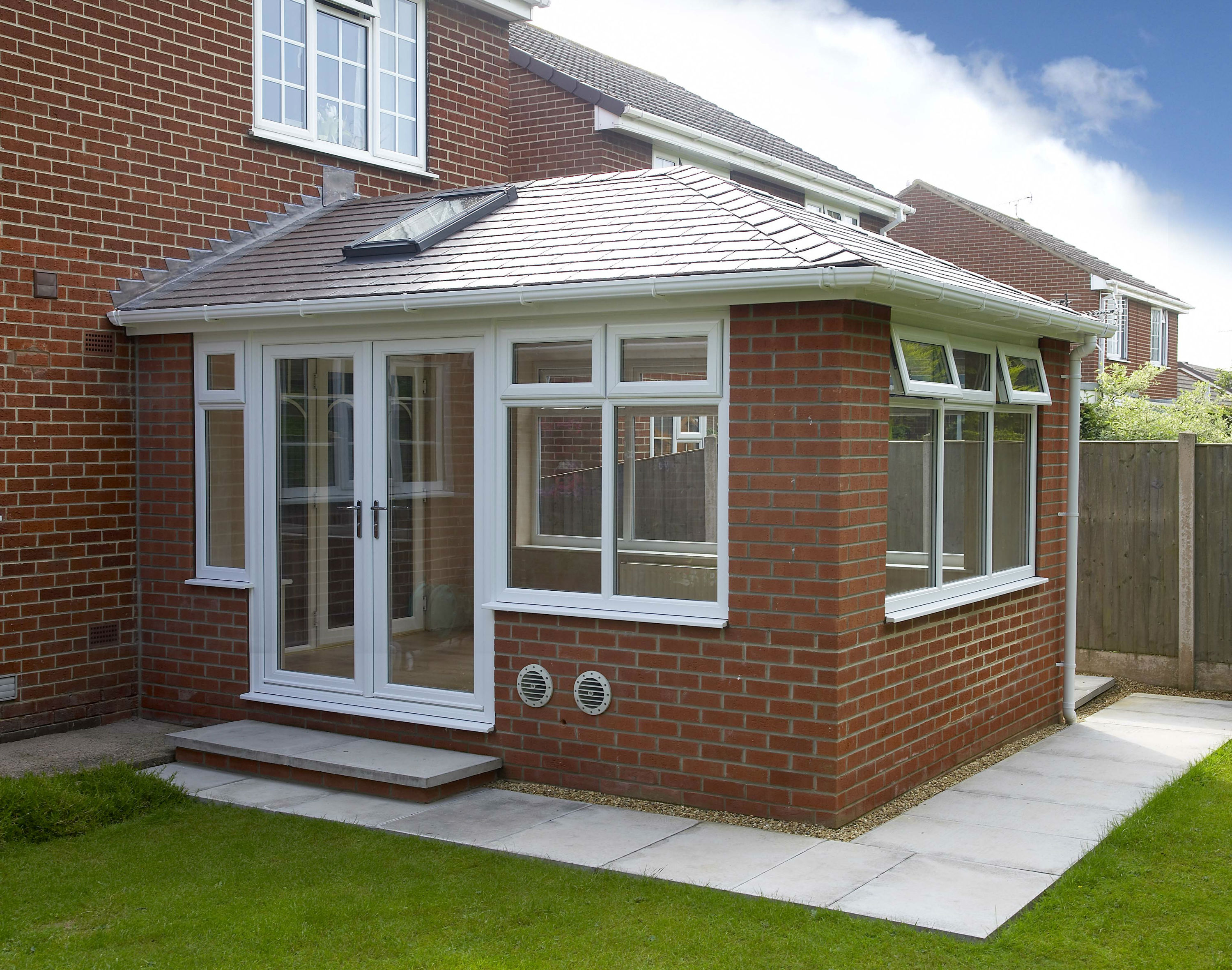 Tiled Conservatory Roof   EYG