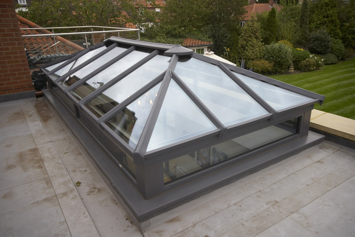 Modern Aluminium Glass Roof Lanterns | Up to 30% off sale! | EYG