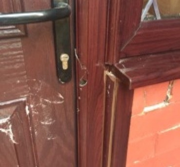 EYG composite door prevents break-in attempt on Leeds home