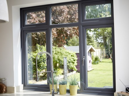 5 fabulous grey upvc windows to TOTALLY transform your home | EYG