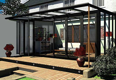 Contemporary Glass Verandas